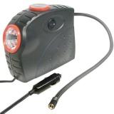 Kompresor Carpoint 12V 10bar s LED reflektorem a tlakoměrem