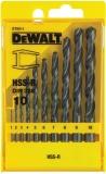DeWalt DT5911 10 dílná sada do železa HSS-R