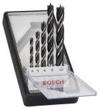 Sada vrtáků Bosch 5dílná do dřeva