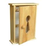 skříňka na klíče 195x85x263mm kaučuk.dřevo