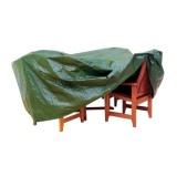 plachta krycí na set 8 žídlí+obdél.stůl 278x204x106cm PE 110g/m2