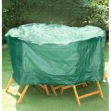 plachta krycí na set 4 židlí+kul.stůl pr.184x98cm PE 110g/m2
