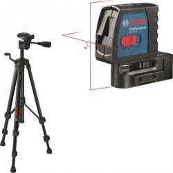 Křížový laser + profesionální stativ Bosch