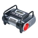 Kompresor Extol Premium do auta, s LCD a světlem CC140