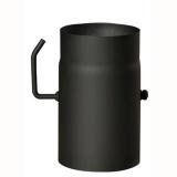 roura kouřová s klap.150mm/ 250 t.1,5mm ČER