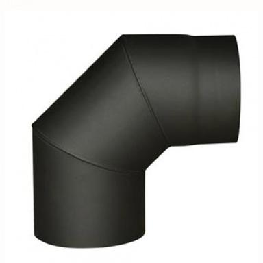 koleno kouřové 150mm/90st.t.1,5mm ČER