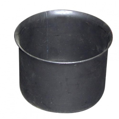 zděř kouřová 160mm t.1,5mm ČER