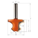 CMT C954 Fréza na příruby s 45° zkosením - R8 D36x25 L60 S=8 HM