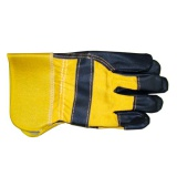 "rukavice ORIOLE 11"" tkanina/hovězina"