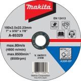 Makita A-85329 180x2,5x22 mm řezný kotouč na ocel