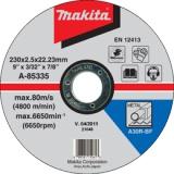Makita A-85335 230x2,5x22 mm řezný kotouč na ocel
