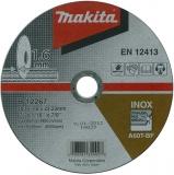 Makita B-12267 180x1,6x22 řezný kotouč na nerez
