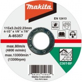 Makita A-85357 115x3x22 mm řezný kotouč na kámen
