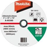 Makita A-85385 230x3x22 mm řezný kotouč na kámen