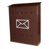 schránka poštovní V 280x335x90mm s obálkou
