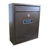 schránka poštovní RADIM M 260x310x90mm měď.antika