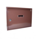 schránka poštovní paneláková 320x240x60mm HN bez děr