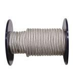lano PA s duší  8mm BÍ pletené   (100m)