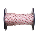 lano PPV bez duše  8mm barevné pletené (100m)