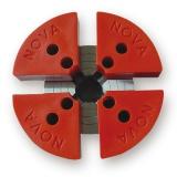 Upínací čelisti nylonové 120mm pro sklíčidlo G3 a SN2