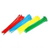 páska vázací 150x2,5mm mix barev (100ks)