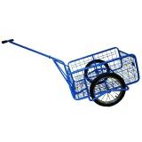 vozík FORMAN s připojením za kolo, komaxit, 550x780x340mm