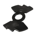 IGM F602 Drážkovací středová fréza - D140x7,5 d30 Z2 MEC