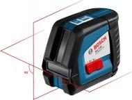 Bosch GLL 2-50 křížový laser se stativem BS 150