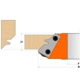 CMT Nůž pro C694011 - pár žiletek 43x23x2mm