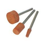 Sada brusných hrotů z oxidu hliníku 3ks, D9-10-15mm S=3,2mm
