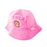 klobouček dětský bavlna RŮŽ