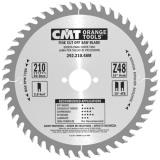 CMT Pilový kotouč pro elektronářadí, finální řez