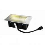 svítidlo LED zápustné 10x 6cm, 2W, IP67 teplé,do dřeva,pochozí