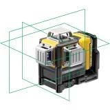 DeWalt DCE089D1G zelený laser křížový