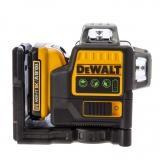 DeWalt DCE0811D1G aku křížový zelený laser