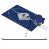 IGM Distanční tyč D16x400mm se šroubem pro FMR3000