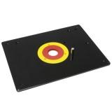 IGM Frézovací deska plastová 306x229x6mm, otvor D30-66-98mm