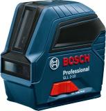 Bosch Professional GLL 2-10 křížvý laser + BT 150 stativ
