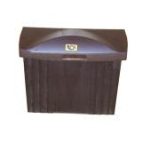 schránka poštovní PH 320x360x135mm, nová, mix barev