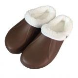 pantofle gumové zimní pánské vel. 41 mix barev (pár)