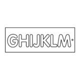 Frézovací šablona na písmena, vel.57mm, G-M