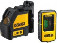 DeWalt DW088KD samonivelační křížový laser s přijímačem