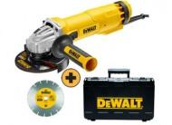 DeWalt DWE4217KD úhlová bruska s kotoučem a kufrem