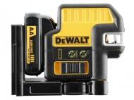 DeWalt DCE0822D1G aku křížový zelený laser s olovnicí