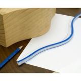 IGM Fachmann Ohebné pravítko 90cm pro kreslení křivek