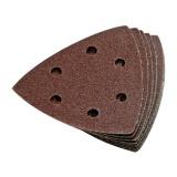 Brusný papír 90mm pro Delta brusky, perforovaný, suchý zip, 10ks