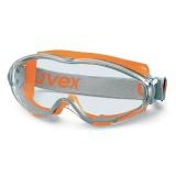 Uvex ULTRASONIC Uzavřené brýle, zorník čirý, oranžovošedé