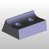 IGM Upínací klínek pro frézovací hlavy MEC F020-F021-F022 -starý