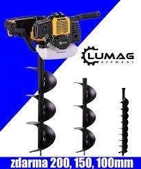 Půdní, zemní vrták - jamkovač Lumag EB520G