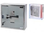 lékárnička 300x300x120mm BÍ/ČER (bez výbavy)